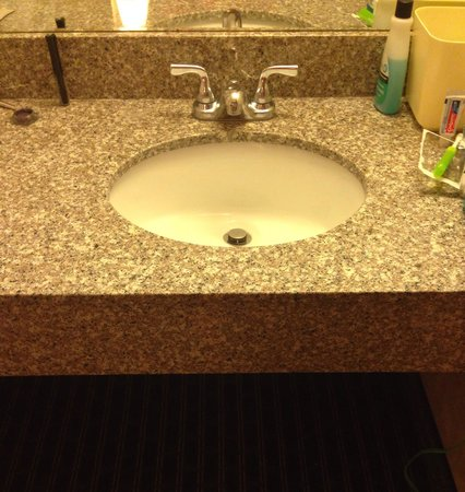 Rodeway Inn : Updated sink area!