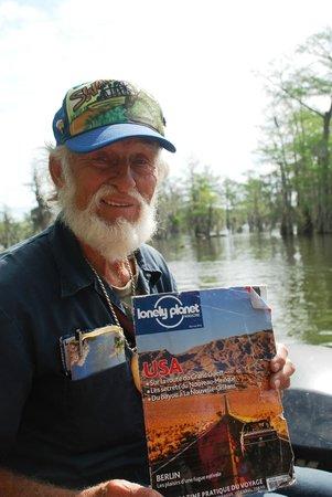 LeBlanc Swamp Tours : Monsieur Norbert Leblanc- tout simple et tout simplement parfait