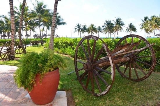 Dreams Tulum Resort & Spa: Gardens