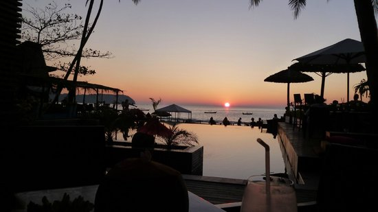 Amata Resort and Spa : Coucher de soleil