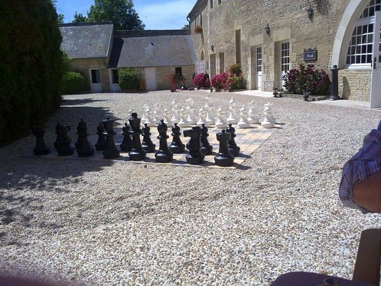 Ferme de la Ranconniere : schaken