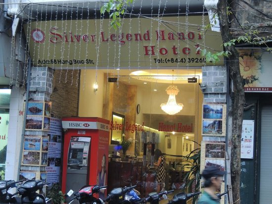 Silver Legend Hanoi : Frontansicht Hotel