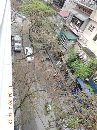 Silver Legend Hanoi: Aussicht Balkon