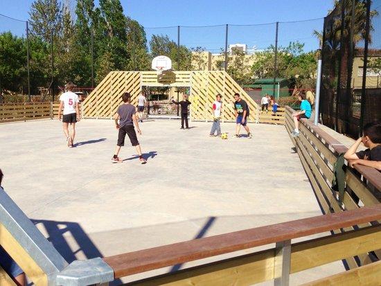Camping Rubina Resort: pista multideporte