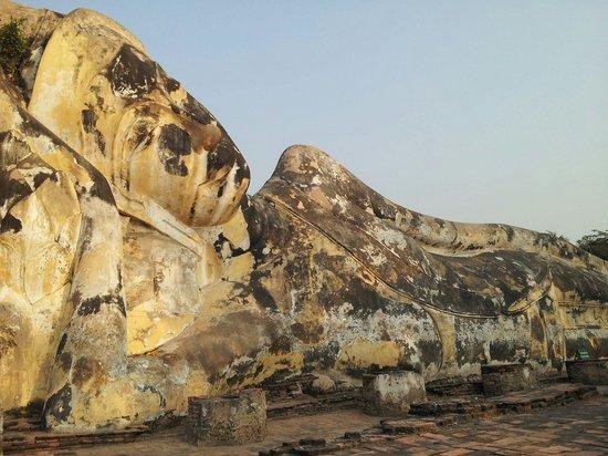 Temple of the Reclining Buddha (Wat Lokayasutharam) : 存在感あり!