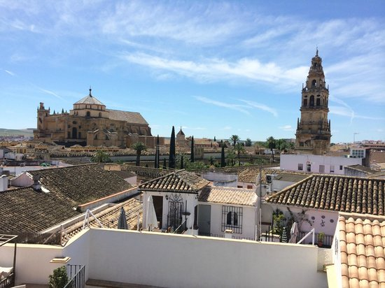 Balcon de Cordoba : Roof terrace view from hotel