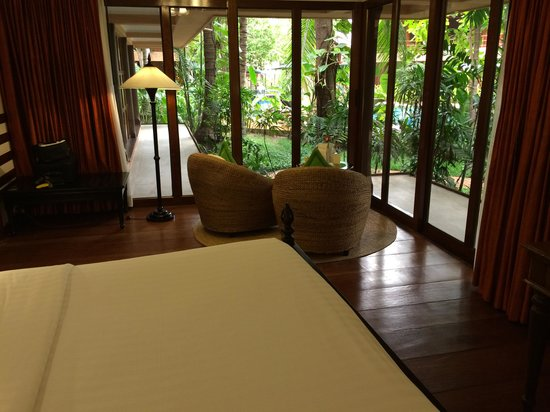 Angkor Village Hotel: View of my room
