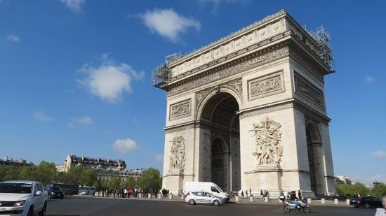 Paris Marriott Opera Ambassador Hotel : Arc de Triumph