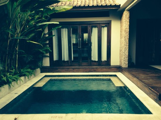 Grand Akhyati Villas and Spa: Wonderful way to cool down, own private haven
