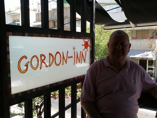 Gordon Inn Hotel: Me on the Balcony at The Gordon Inn - Tel Aviv