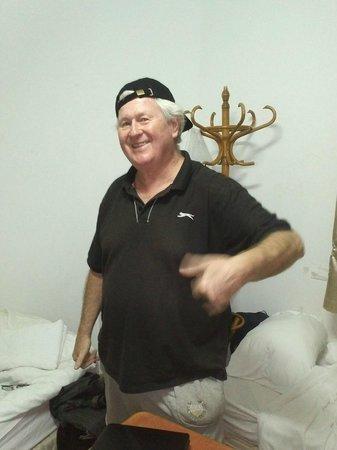 Me in my Dormitory at The Gordon Inn - Tel Aviv