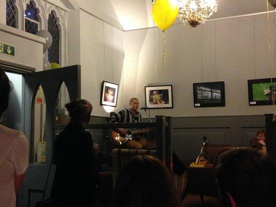 The Angel Coffee House: Fabulous Chris!