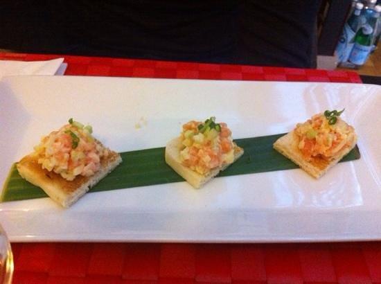 Magokoro : toasts de saumon