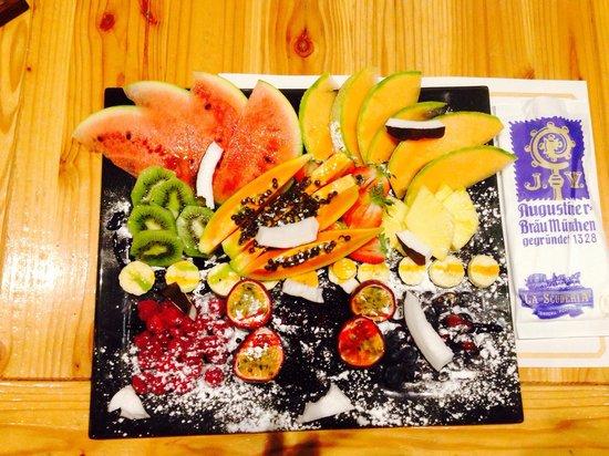 La Scuderia: Frutta fresca !!!!!!!