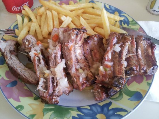 Scooby's : Ribs & Chips