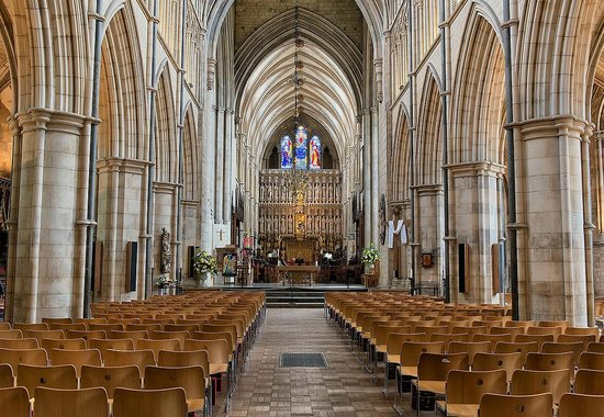 Southwark Cathedral: navata centrale