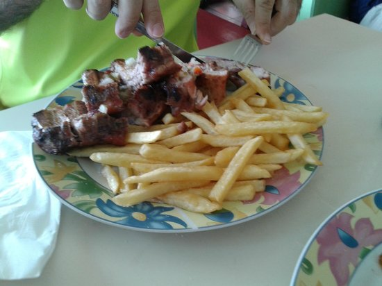 Scooby's: Ribs & Chips