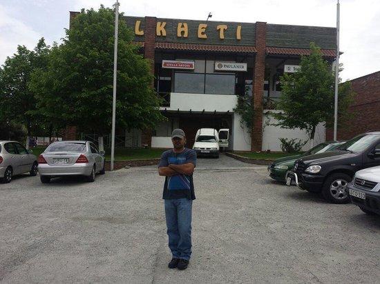 Kolkheti : The restaurant.