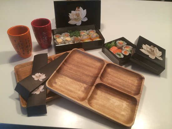 Jorudan Sushi : Take-away