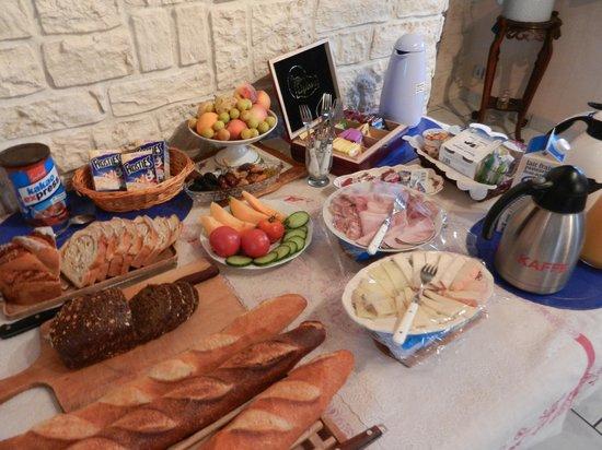 Chez Dany : Petit déjeûner