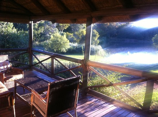 Glen Afric Country Lodge: view over hippo lake