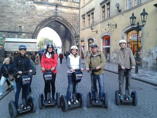 SEGWAY EXPERIENCE: Segway and E-Scooter Tours: Start