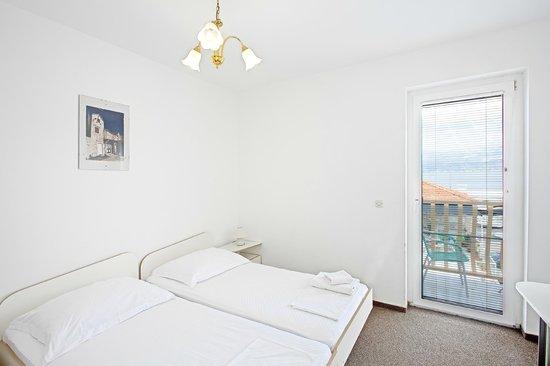 Hotel Villa Supetar: Room with a sea view