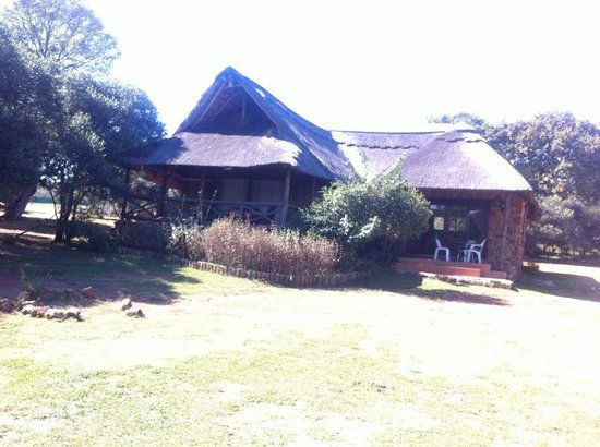 Glen Afric Country Lodge: hippo lodge