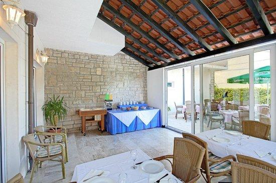Hotel Villa Supetar : Wintergarden