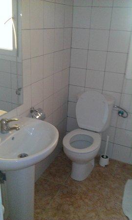 Hostal Apuntadores: toilette commun