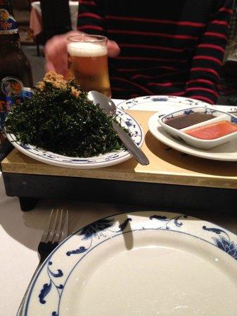 Mr Hau: Crispy Seaweed.