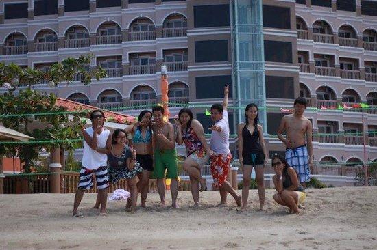 Estrellas de Mendoza Playa Resort: Cool backdrop!
