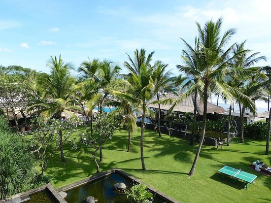 The Legian Bali: View from 2nd floor balcony