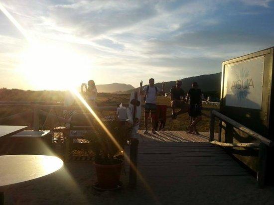 Tantrum Kitesurf: Sunset on the beach