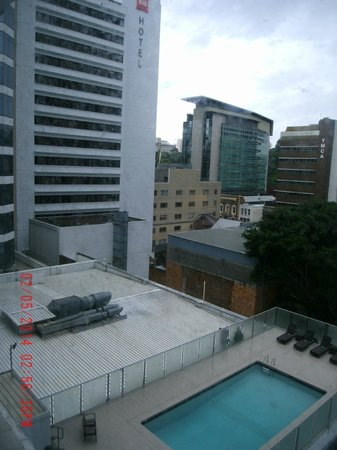 Mercure Brisbane: View from window
