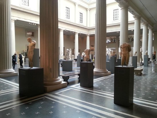 Metropolitan Museum of Art: En el interior
