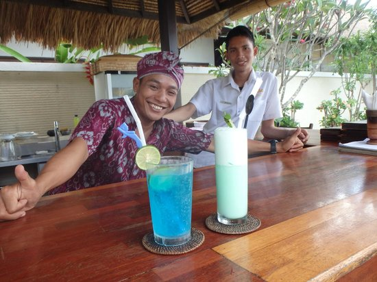 Puri Mas Boutique Resort & Spa : The friendliest staff