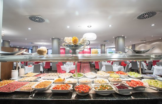 Hotel Carmen Granada: Buffet zona fria
