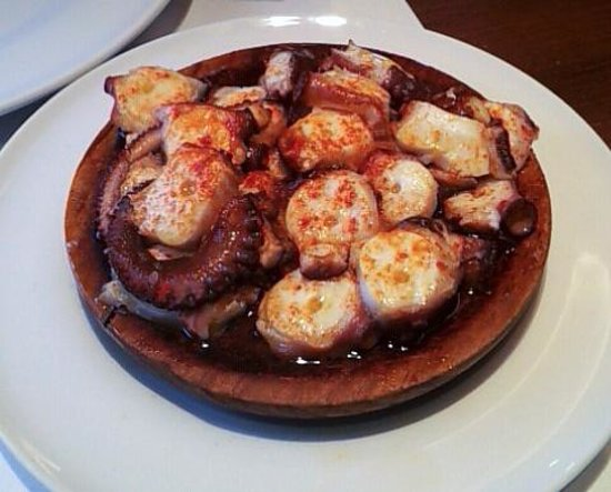 San Jaime: Pulpo a la gallega del menú