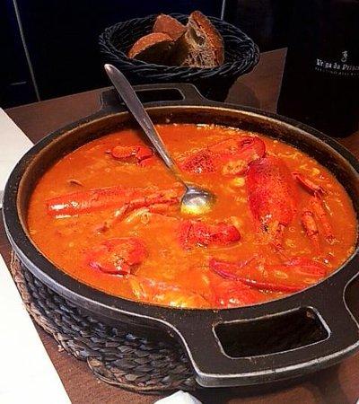 San Jaime: Arroz con bogavante del menú