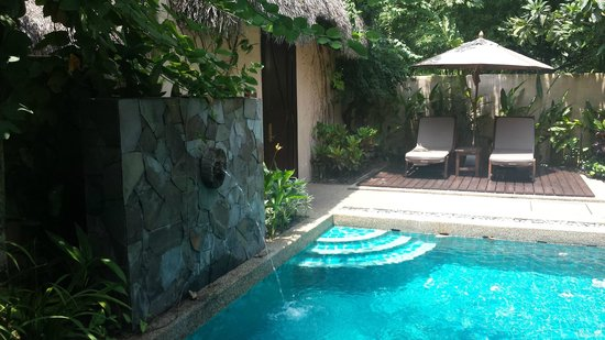 The Banjaran Hotsprings Retreat: Private plunge pool in your own villa