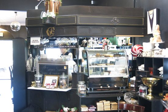 Chocolate Boutique: Inside display
