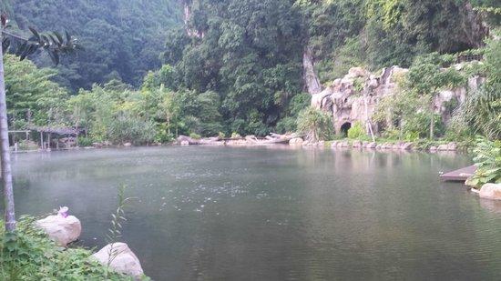 The Banjaran Hotsprings Retreat: Scenic view on retreat grounds