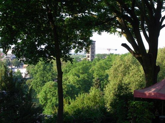 """Hotel Villa Monte Vino: Blick vom Balkon des Zimmers """"Brandenburger Tor"""""""