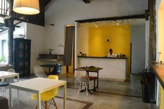 The Sundays Sanctuary Resort & Spa: Reception desk