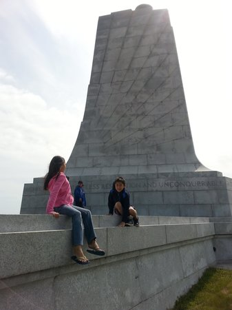 Wright Brothers National Memorial: View of the monument