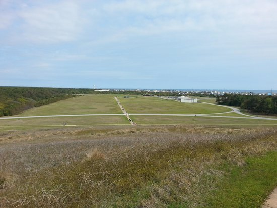 Wright Brothers National Memorial: view from the monument