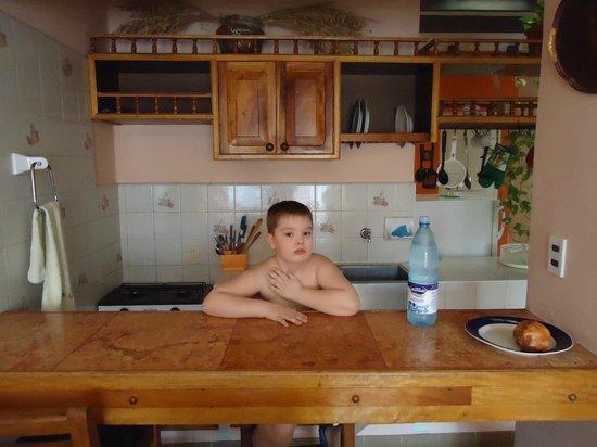 Apart Hostal Eva y Ernesto en Santa Clara: Кухня