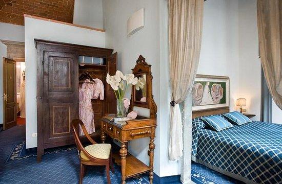 Il Guelfo Bianco: la habitación que ocupamos en el 2do piso