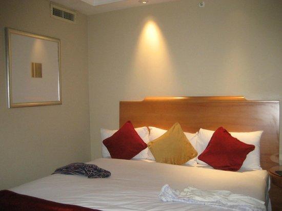 Pullman London St Pancras Hotel : literie moelleuse